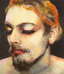 Lita Cabellut (was born as a gipsy girl in the streets of El Raval in Barcelona and adopted at the age of 13)...