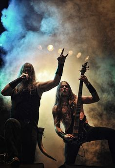 Amon Amarth more of the lines of viking metal, but hey its cool