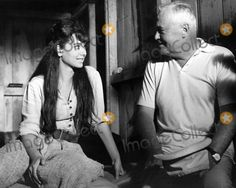 "Suzanne Pleshette with Director Henry Hathaway Between Scenes For ""Nevada Smith"" Supplied by Ad-Globe Photos, Inc."