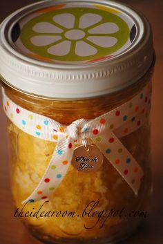 Pie In a Jar ....great gift idea