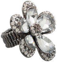 Ring - Flower grey - Bijou Brigitte Online Shop NL