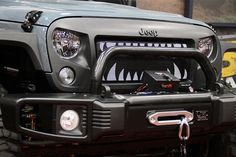 """Jeep """"Shark"""" Grille <3"""