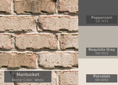 Most Popular General Shale Brick Colors Nantucket brick from the Vintage Collection