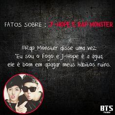 # - J-Hope e Rap Monster