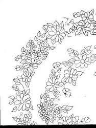 Resultado de imagen para patrones de flores para pintar en madera