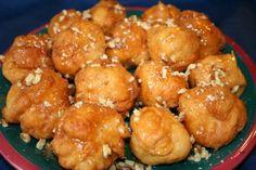 Loukoumades (Greek Honey Dumplings)