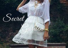 Roxanne: the Secret Garden Fashion Beauty, Personal Style, Tulle, Garden, Skirts, Accessories, Garten, Tutu, Skirt