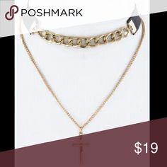Cross choker necklace Cross choker necklace KJ JEWELRY  Jewelry Necklaces