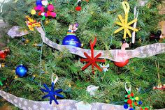 Kid Made Christmas Ornaments   Mess For Less