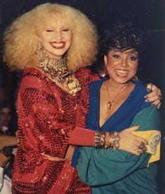 Baú da Marrom: 1985! Com Elke Maravilha nos bastidores do Cassino do Chacrinha!