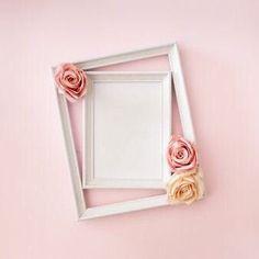 Invitation Floral, Wedding Invitation Card Design, Cherry Blossom Background, Pink And White Background, Rose Frame, Flower Frame, Love Wall Art, Wall Art Decor, Wedding Frames