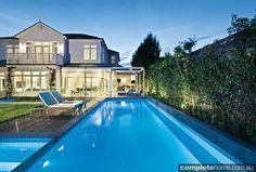 modern family pool