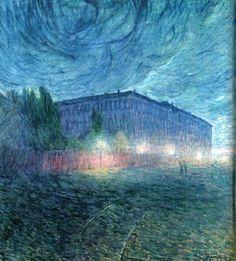Eugene Jansson, Stormy Night 1898