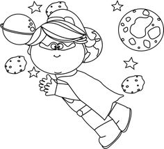 Black and White Christmas Clip Art (With images