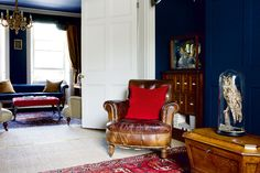 Barry Manors craved and has achieved a very English period property, but one with an unusual twist to its personality. Winner of Best Interior Design in the Period Living Homes Awards 2013