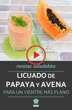 Healthy Juices, Healthy Smoothies, Healthy Drinks, Papaya Smoothie, Oatmeal Smoothies, Health And Nutrition, Easy Healthy Recipes, Instagram, Vegetarian