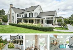 Referensobjekt | Dreams & Coffee AB New England Hus, Beaver Homes, Bungalow Exterior, Home Fashion, Abs, Mansions, Coffee, House Styles, Dreams