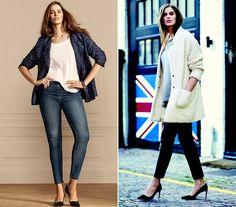Robin Lawley a sportos eleganciát képviseli, olyan ruhákat hord, amik mindenkinek jól állnak. A farmer-blézer kombó és a combközépig érő kabát magassarkúval tökéletes választás.