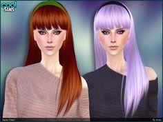 Taylor hair by Anto at TSR via Sims 4 Updates