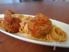 Spaghetti med kødboller - hoerup.