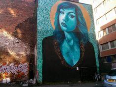 Kent street - irish dancer Graffiti Murals, Street Art Graffiti, Kent Street, Belfast, Irish, Dancer, Painting, Irish People, Painting Art
