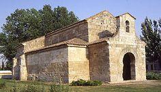 La Iglesia de San Juan Bautista es el primer monumento visigodo situado en la localidad de Baños de Cerrato (antigua Balneos). Es una iglesia visigoda mandada construir por el rey Recesvinto en el año 661 y cuya ceremonia solemne de consagración se cree que fue el 3 de enero de 661 (Era 699)