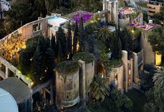 La fabrica is an old cement factory turned into a modern home and office for Ricardo Bofill and his team
