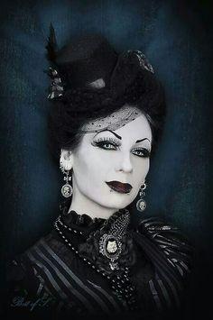 Lovely :3 #goth girl