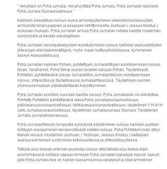 Screenshot: (5) Jukka Niemi Blessed, Torah, The Covenant, Jesus Christ, Peace, Messages, Let It Be, Israel, Facebook