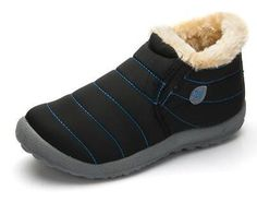 Men's Boots New Fashion Men Winter Shoes Solid Color Snow Boots Plush Father Antiskid Bottom Keep Warm Waterproof Ski Boots Size 35-48 To Have A Unique National Style