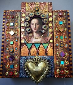 MONDAY   FEBRUARY 2, 2015   9:00 am until 4:00 pm  LAURIE MIKA   JEWELED ICONS   $145 one-day class   Jeweled Icons is a workshop where we ...