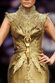 Sensational Tex Saverio textured gown- this dress is for ruling the world