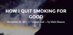 mm quit smoking