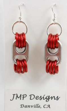 Pop Top Chic Earrings - Aretes corcholatas