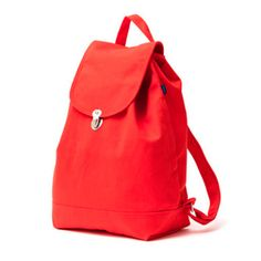 The new style Baggu backpack.  -Features a hidden side zipper pocket with mobile…