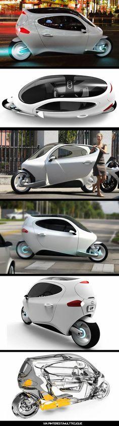 C1 by Lit Motors #concept  来年発売?こんなん欲しいなあ