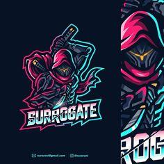 Team Logo Design, Mascot Design, Hero Logo, Sports Team Logos, Youtube Logo, Esports Logo, Great Logos, Game Logo, Logo Sticker