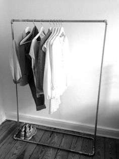 """Kleiderständer """"Rohr"""" von creative auf DaWanda.com:"""
