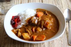 Japanese+curry+is+very+different+from+Indian+curries. +It's+thicker+and+has+a+milder+flavor+than+its+Indian+counterpart,+and+the+real+secret+is+…+using+a+curry+mix+from+a+box+and+that+is+the+truth. +Japanese+people+like+to+make+a+lot+of+dishes+from+scratch;+however,+when+…