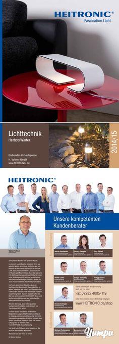 HEITRONIC Lichttechnik-Katalog (Herbst/Winter 2014/2015)-Fachkatalog zu den Themen Licht und Elektro.