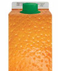 Les composants: Le contenant: Le produit est présenté dans une bouteille carton plastifié d'1L de forme standard dans l'univers des jus de fruits aux packaging carton. La marque mise avant tout sur l'aspect visuel que le packaging fait ressortir. A l'instar des quartiers d'orange le packaging met en valeur la qualité qui va ressortir du contenant. A mon sens, c'est un dommage d'investir autant dans un packaging et d'avoir une forme si banale.