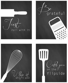 Home Decor Inspiration : Roundup: 22 Free Kitchen Wall Art Printables Curbly Diy Design, Kitchen Wall Art, Kitchen Wall Design, Kitchen Walls, Cuisines Design, Diy Wall Art, Diy Art, Printable Wall Art, Printable Kitchen Prints