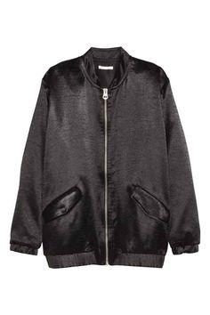 Blusão em cetim | H&M