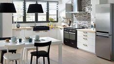 En nuestro artículo de hoy tenemos para ti unas ideas impresionantes de forma cocinas en L para los que todavia no han decidido como diseñar la cocina.