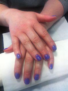 Pretty Purple Nails Done In Salon Ph 085 2052600 For Apt Or Jennifersalonclonmel