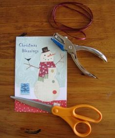 How to Make Homemade Bookmarks from Cards…
