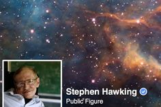 Stephen Hawking Has Joined Facebook | Vanity Fair