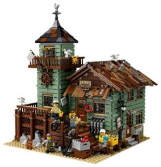 Ideas blog: 21310 Old Fishing Store details | Brickset: LEGO set guide and database