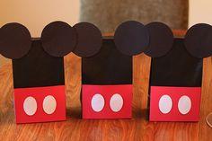 Party favor bags. #Disney