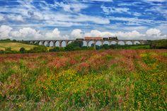 The train to the clouds! by RashidKhaidanov.
